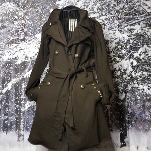 NWT Tag Double-breasted Cotton trench coat